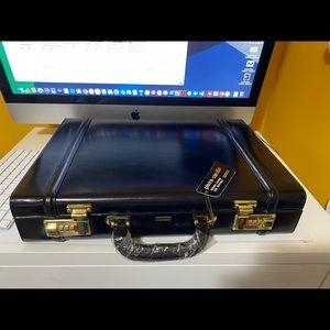 🔥Pierre Cardin Genuine Leather Briefcase